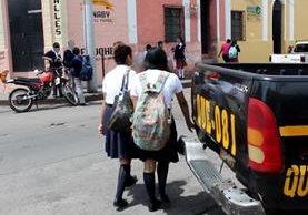 El 63 por ciento de casos de alerta Alba Keneth en Quetzaltenango, este año, son adolescentes desaparecidas.(Foto Prensa Libre: María José Longo)