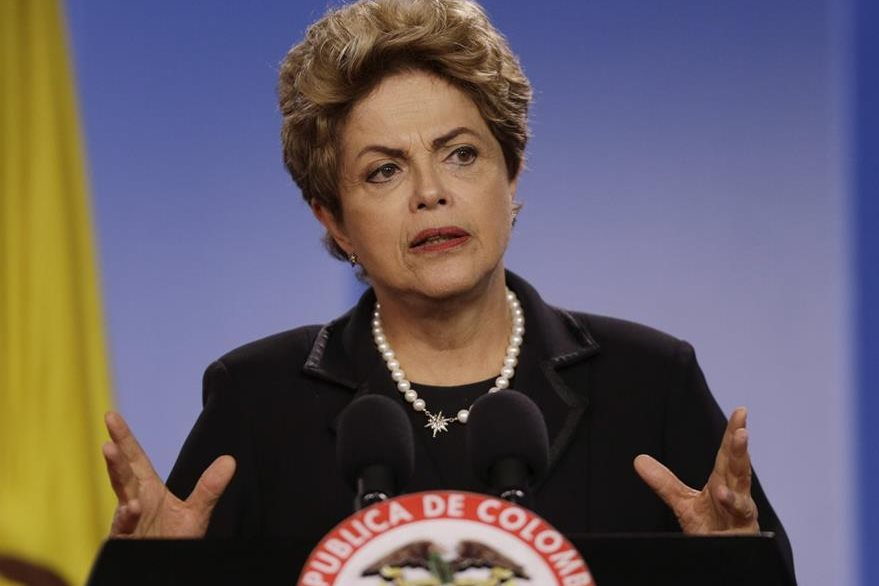 Dilma Rousseff, presidenta de Brasil. (Foto Prensa Libre: EFE).