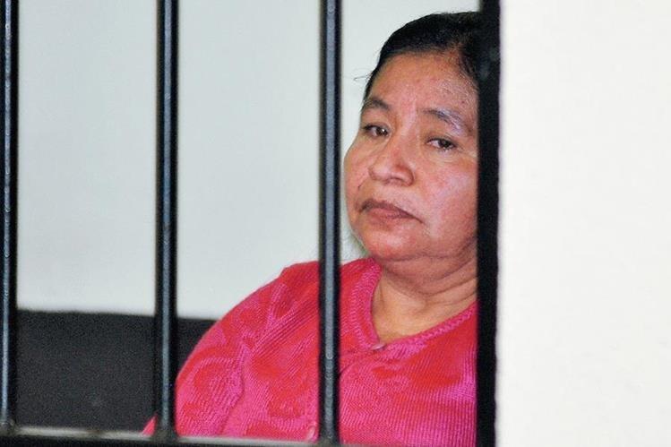 Rosario Colop  Chim fue condenada por el secuestro de una niña en 1984, en Zunil, Quetzaltenango. (Foto Prensa Libre: Alejandra Martínez)