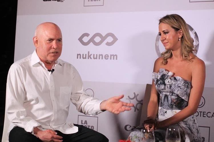 Steve McCurry participará en el proyecto Corazones de Guatemala, impulsado por Francesca Kennedy. (Foto Prensa Libre: Óscar Rivas)