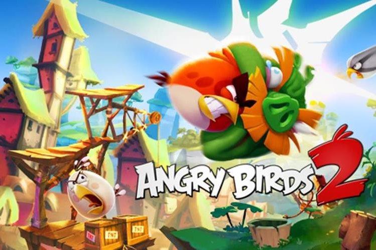 Angry Birds cuenta con más de 3 mil millones de descargas. (Foto Prensa Libre: Hemeroteca PL)