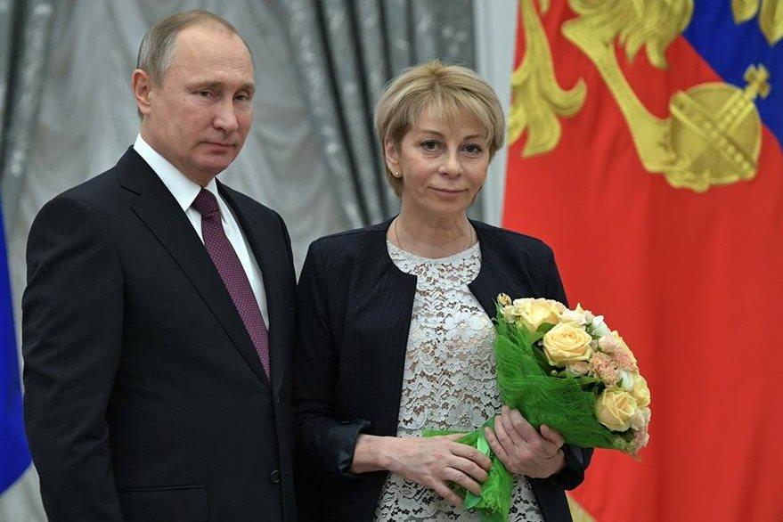 Doctora Yelizaveta Glinka, activista y altruista que iba en avión ruso accidentado. (AP)