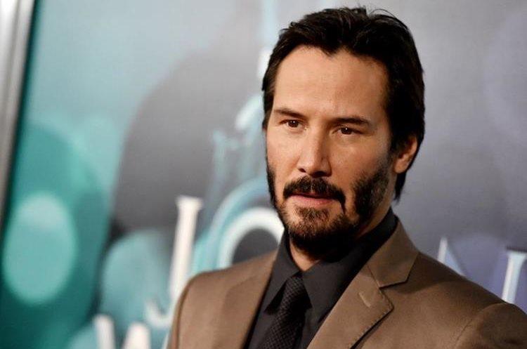 Algunos seguidores de Keanu Reeves afirman que es inmortal ya que su aspecto casi no se ha deteriorado con el pasar de los años. (Foto Prensa Libre: AFP).