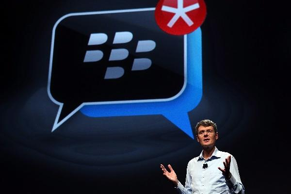 Heins DIO a conocer  datos   del BlackBerry 10.