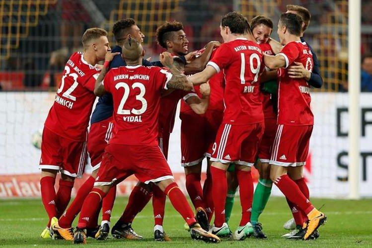 """El Bayern de Ancelotti sigue siendo una """"bestia negra"""" para el Dortmund. (Foto Prensa Libre: EFE)"""