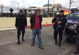 Eduardo Gamaliel Cifuentes Morales, excandidato a alcalde de Quetzaltenango. (Foto Prensa Libre: PNC)