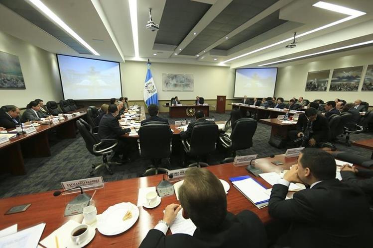 Reunión del Gabinete del presidente Jimmy Morales (Foto Prensa Libre: Presidencia).