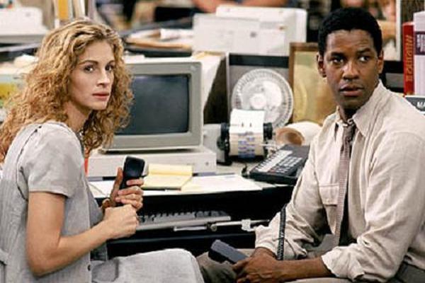 <p>Julia Roberts, en una escena de Informe pelícano.</p>