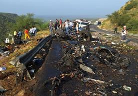 La cifra de muertos podría aumentar, dijeron autoridades. (Foto Prensa Libre: EFE)