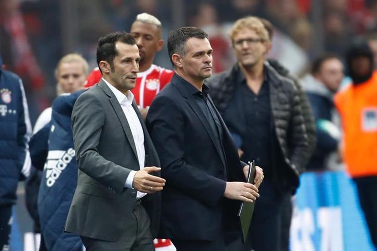 El Bayern Múnich sigue sin tomar el rumbo de la victoria, ahora baja la dirección técnica de Willy Sagnol. (Foto Prensa Libre: AFP)