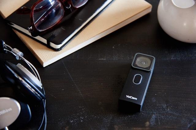 Yocam graba video a 2.7K y tiene un ángulo de 140 grados. (Foto Prensa Libre: Mofily).