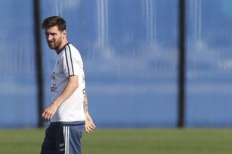 Lionel Messi espera liderar el triunfo de Argentina en la Copa América. (Foto Prensa Libre: EFE)
