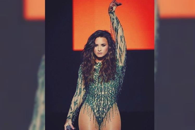 """Demi Lovato promociona en la actualidad la canción """"Sorry not sorry"""". (Foto Prensa Libre: Tomada de instagram.com/ddlovato)"""