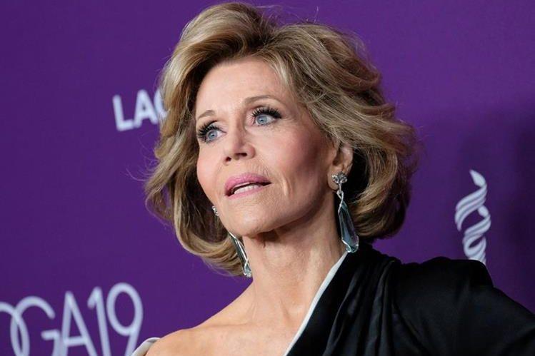 La actriz Jane Fonda, de 79 años, sufrió abusos durante su niñez. (Foto Prensa Libre: AFP)