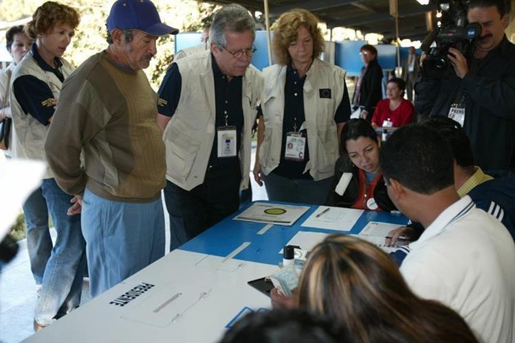 La misión de observación electoral de la OEA estará a cargo Juan Pablo Corlazzoli. (Foto Prensa Libre: Hemeroteca PL)