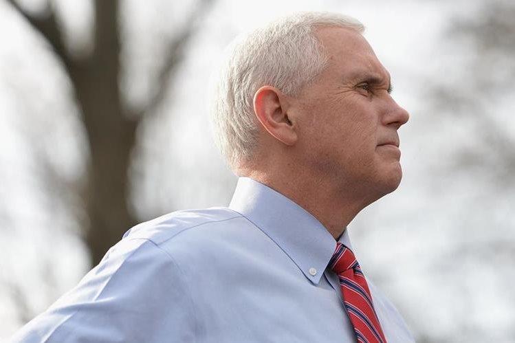 Mike Pence, vicepresidente de Estados Unidos. (Foto Prensa Libre: AFP).