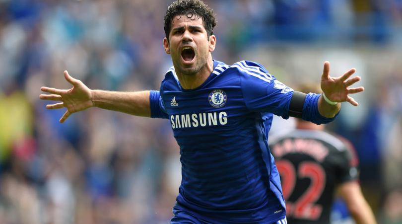 Diego Costa ha dejado ver su deseo de continuar con el Chelsea en la Liga Premier Inglesa. (Foto Prensa Libre: Hemeroteca)