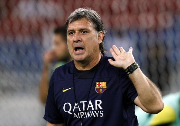 Gerardo Martino dijo que fue un fracaso su paso como técnico del FC Barcelona. (Foto Prensa Libre: Hemeroteca)