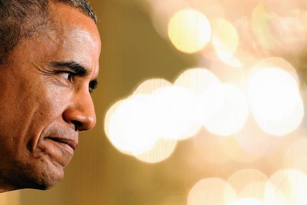 El presidente estadounidense.Barack Obama habla en Washington. (Foto Prensa Libre AP)
