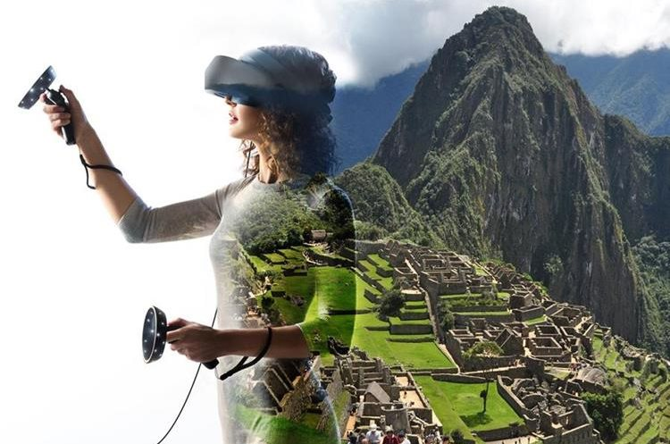 Windows Mixed Reality, combina el mundo físico y el digital, Microsoft cree que la realidad mixta es el siguiente paso en la evolución de la computación humana. (Foto Prensa Libre: Microsoft)