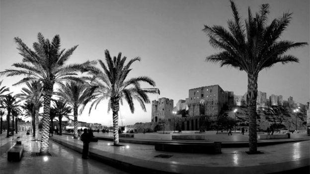Las fotografías del archivo proporcionan un registro de la ciudad valioso. ALEPPO NATIONAL ARCHIVES