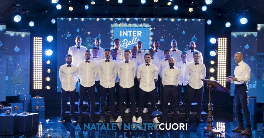 Llega el espíritu navideño a la Serie A Italiana. (Foto Prensa Libre: Inter de Milán)