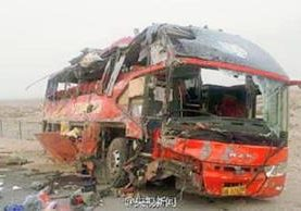 El accidente dejó al menos 22 muertos según agencias internacionales de noticias.