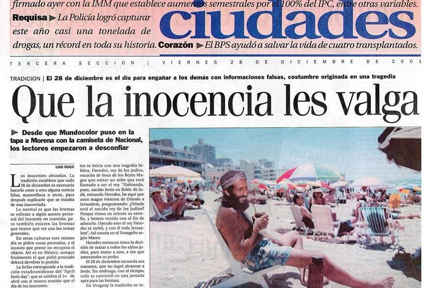 En varios países los medios de comunicación acostumbran publicar noticias falsas en este día. (Foto: Hemeroteca PL)