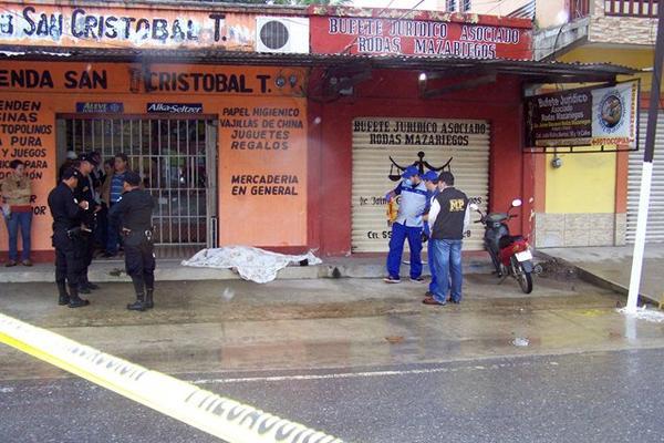 <p>Jaime Geovanny Rodas Mazariegos fue atacado a balazos en Puerto Barrios, Izabal. (Foto Prensa Libre: Edwin Perdomo).<br> <br></p>