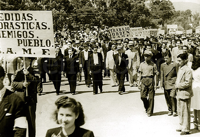 La gesta Revolucionaria del 20 de octubre de 1944 rompió con la dictadura ubiquista y se implantaron muchas reformas de beneficio a las mayorías, contrario a los intereses de las multinacionales afincadas en el país. (Foto: Hemeroteca PL)