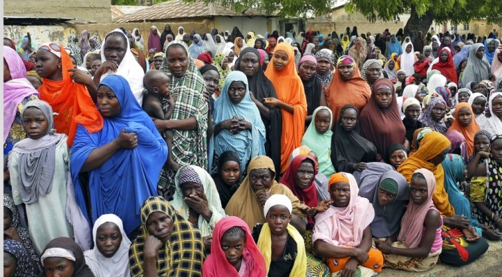 Foto referencial. En mayo de este año 200 mujeres fueron liberadas, muchas de ellas estaban embarazadas por los mismos terroristas. (Foto: Internet).
