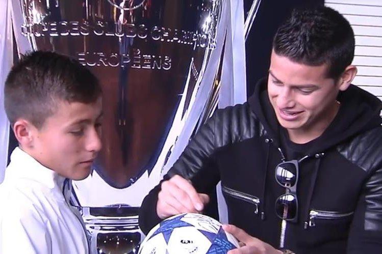 Niño Ángel de Chapecoense cumplió su sueño de ver al Real Madrid