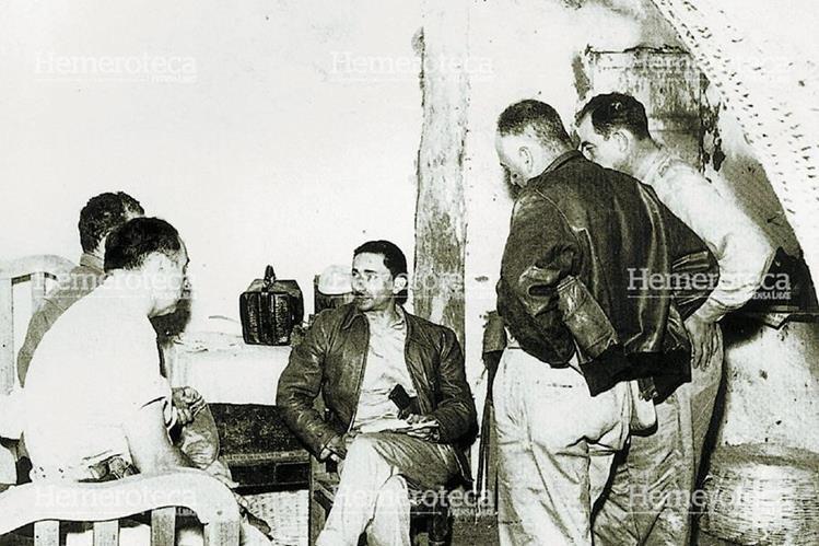 Castillo Armas dirigió la tropa que derrocó a Árbenz en 1954. (Foto: Hemeroteca PL)