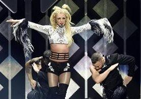 Britney Spears durante una presentación el viernes pasado en Los Angeles. (Foto Prensa Libre: AP)