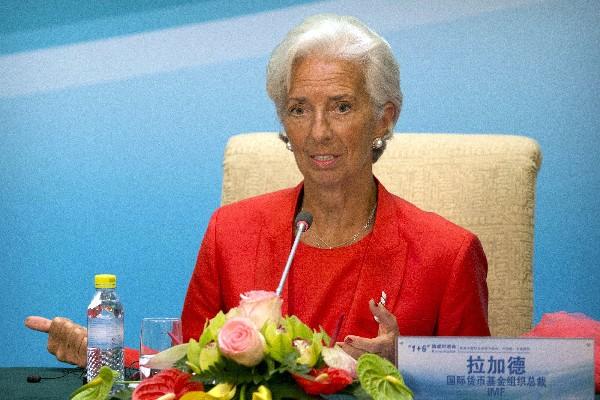 Christine Lagarde,directora gerente del Fondo Monetario Internacional (FMI). (AP).