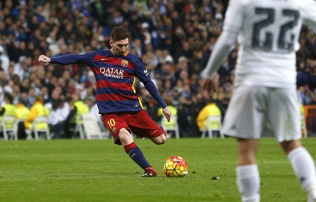 Messi ingresó al juego al minuto 57, en sustitución de Rakitic. (Foto Prensa Libre: AP)