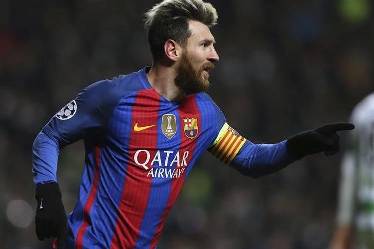El delantero del Barcelona Leo Messi es uno de los favoritos para el exentrenador de la selección española. (Foto Prensa Libre: AFP)