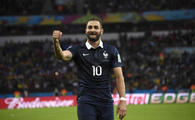 El delantero del Real Madrid, Karim Benzema, podría volver a la selección de Francia. (Foto Prensa Libre: Hemeroteca)