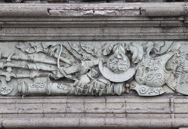 El paso del tiempo y los últimos sismos han dañado al Palacio Nacional de la Cultura, cuya restauración camina lentamente. (Foto: Hemeroteca PL)