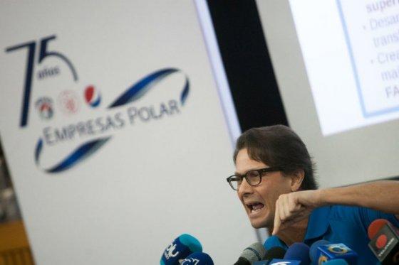 Lorenzo Mendoza, presidente de Polar de Venezuela.