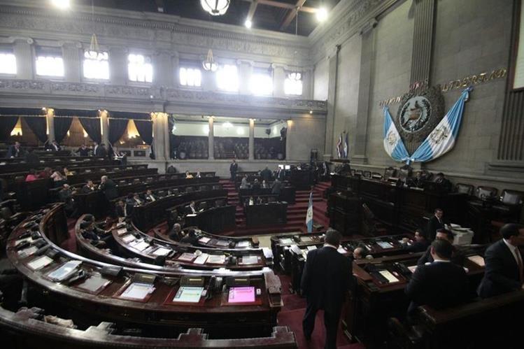Congreso aprueba en primera lectura Presupuesto 2016. (Foto Prensa Libre: Erick Ávila)