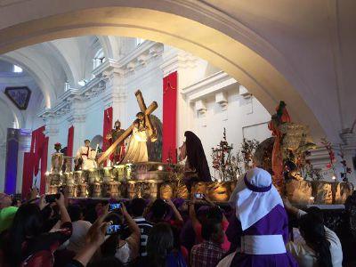 El usuario @mjnatareno compartió esta fotografía a través de su cuenta de Twitter, desde Antigua Guatemala.