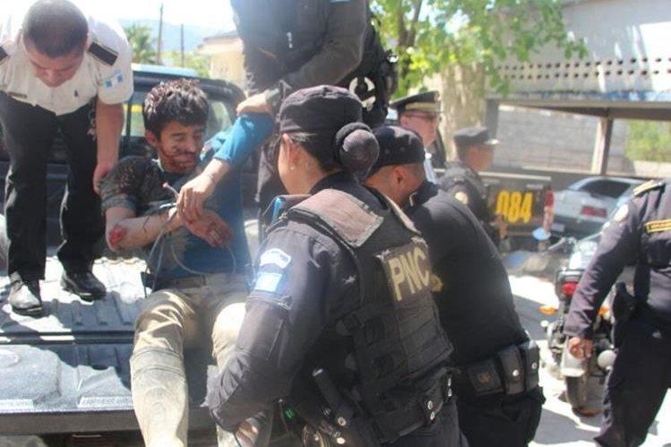 Uno de los sospechosos de haber violado y asesinado a una menor de 12 años en Camotán. (Foto Hemeroteca PL)