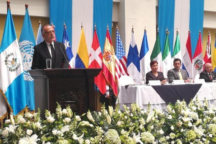 Iván Velásquez, jefe de la Cicig, destacó los objetivos del mandato de la comisión, los cuales