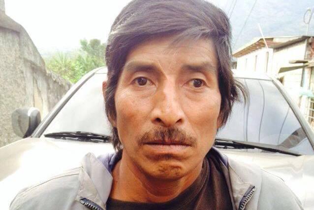 Manuel de Jesús López, alias el Machote, es sindicado de pertenecer a la banda de secuestradores los Topos. (Foto Prensa Libre: PNC)