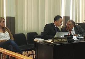 Julia Herminia Cervantes es acusada por parricidio, por la muerte de su conviviente, Allan Gary Vargas, en el 2013. (Foto Prensa Libre: Jerson Ramos)