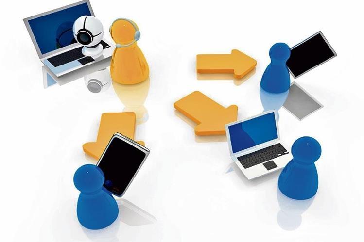 Los nuevos gadgets y las redes también pueden servir para educar.( Foto Prensa Libre: Hemeroteca PL).