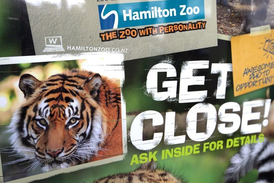 El zoológico de Hamiltón cerró sus puertas tras el ataque contra la empleada. (Foto Prensa Libre: AP)