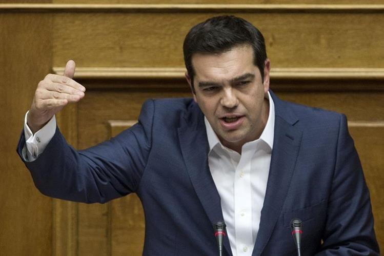 El primer ministro griego, Alexis Tsipras, convocó a una reunión de urgencia con su gabinete de crisis. (Foto Prensa Libre: Hemeroteca PL)