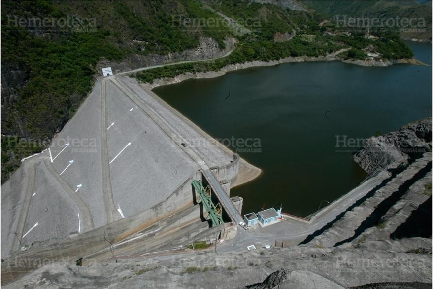Represa de Chixoy, en una fotografía reciente. (Foto: Hemeroteca PL)